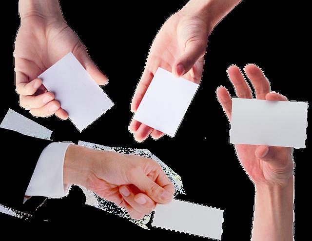 Comment personnaliser une carte de visite à l'image de l'entreprise?