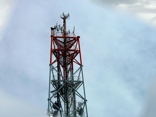 Les différents types de pylônes de communication